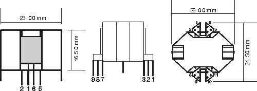 厂家供应rm6/rm8/rm10等高频变压器,交货及时